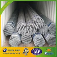 China Q195 /Q235 Chinese manufacturer hot dipped galvanized steel pipe wholesale