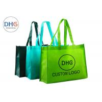 China 80gsm-120gsm Non Woven Polypropylene Tote Bags Customized Logo Bottom Gusset on sale