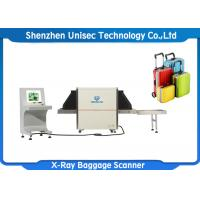 Buy cheap Dual View X Ray Baggage Scanner , SF6550D Baggage Scanning Machine For Railway Station from wholesalers