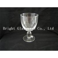 Quality Clear wine goblet glass, Water Goblets Glassware sale for sale