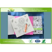 China 400grams Paperboard Cover Adults Coloring Books for Education Institutions wholesale