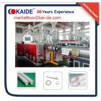 China Three Layers Glassfiber PPR Pipe Extrusion Machine 20mm-110mm Pipe Machine for Russia Client on sale