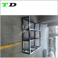 China OEM 50x50mm square tube carbon steel with black powder coating metal welding wholesale