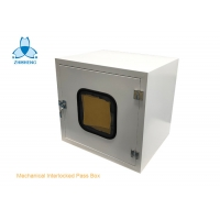 China Mechanical Interlock Air Shower Pass Box For Clean Room wholesale