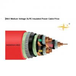 Medium Voltage XLPE Insulated Power Cable Single Core / 3 Core Copper Conductor