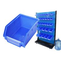 China 150l large clear plastic storage bins box with lids on sale