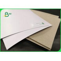 China 250gsm 300gsm Coated Duplex Board White Surface For Shirt Lining Packaging wholesale