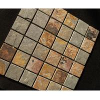 Buy cheap mosaic slate stone tiles home depot from wholesalers