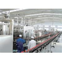 China PET Bottle / Can Carbonated Drinks Machine , Automated Carbonated Beverage Filling Line wholesale
