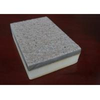 Energy Saving Real Stone External Wall Insulation Boards / Wall Panels With