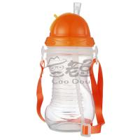 China Infant Baby Water Bottles , Cute Baby Feeding Cup With Straw Drinking Cups wholesale