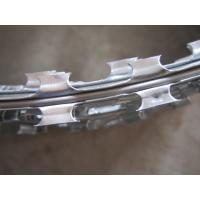 China Professional Hot Dipped Galvanized Razor Wire Fencing , Security Barbed Wire Edging wholesale