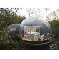 China Crystal Inflatable Bubble Tent House Dome 3M / 4M / 5M Size CE Approved wholesale
