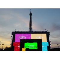China P3.91 Outdoor Led Video Wall 500*1000mm Cabinet Shenzhen Kailite P3.91 P4.81 Full Color Video Rental Led Display Screen wholesale