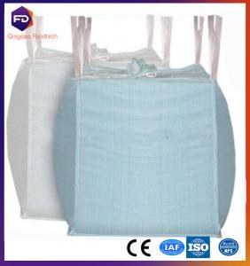 China 1 ton pp jumbo bag for cement FIBC bag low price big ton fibc jumbo bulk woven bag wholesale