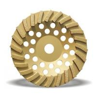 China 100mm double row diamond abrasive stone cup grinding wheel for sale wholesale