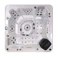 China Corner Location Hydrotherapy Hot Tub Spa 5 Person Capacity Ponfit With Bluetooth Speakers wholesale