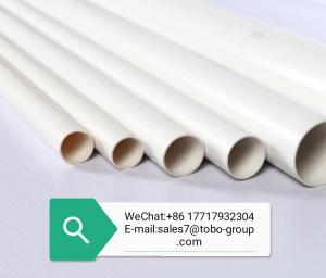 China OEM ODM Extrusion 12m DIN8077 DIN8078 Water PVC Tube wholesale