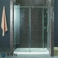 China Glass Partitions For Showers(5mm,6mm,8mm,10mm,12mm,15mm,19mm) wholesale