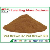 China Custom Synthetic Dyes C I Vat Brown 1 Brown BR Dye For Synthetic Fabric wholesale