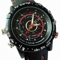 China Waterproof HD Watch Camera, Audio Recording with 5MP CMOS wholesale