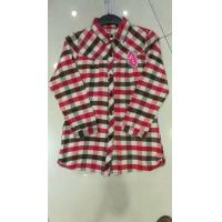 China wholesale in stock cheap women's clothes full sleeve plaid shirts casual lady's garments stock lots 3 colors  full szie wholesale