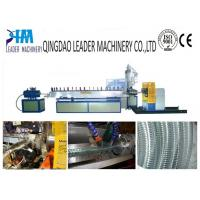 China steel wire reinforced soft pvc spiral hose extrusion machine wholesale