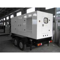 China 50 Kva Silent Cummins Generator Set Electrical Starting Trailer Mounted Diesel Generator wholesale
