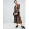 Buy cheap factory clothing custom make fashion print maxi dress from wholesalers