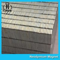 China Square Industrial Neodymium Magnets Bar Block N54 Grade High Strength wholesale