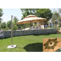 China Classic Round Top Starbucks Patio Umbrella For Outdoor Garden Furniture wholesale