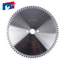 China Durable Alloy Saw Blade , Aluminum Cutting Circular Saw Blade High Speed wholesale