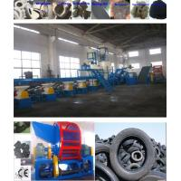 China Tire Recycling Plant Rubber Powder and Rubber Granules--For nylon tires&radial steel tires wholesale