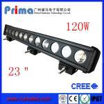 "China 23"" 120W Cree Led Light Bar! Single Row Light Bar for Jeep SUV 4X4 wholesale"