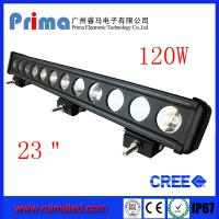 """Buy cheap 23"""" 120W Cree Led Light Bar! Single Row Light Bar for Jeep SUV 4X4 from wholesalers"""