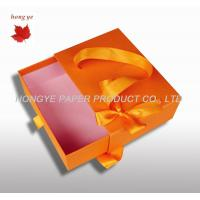 China Drawer Boxes Cardboard Gift Boxes With 300G 400G 500G Duplex Board wholesale