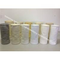 China Easy Cleaning Dust Collector Filter Bags 550 GSM To Improve Filter Efficiency on sale