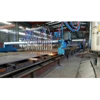 Buy cheap CNC Oxygen Cutting Machine Double Side Panasonic Driver 100m Thickness from wholesalers