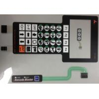 China Silver Paste Waterproof Membrane Switch PCB , Membrane Keyboard Switches wholesale