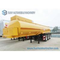 Buy cheap 17000 L Molten Sulphur Chemical Liquid Tank trailer Insulation SUS316L Tanker from wholesalers