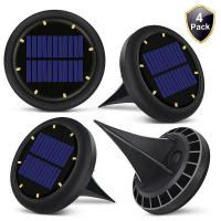China 0.07w Solar Powered LED Ground Lights Solar Ground Buried Light Four Colors wholesale