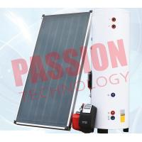 China Natural Circulation Split Solar Water Heater Flat Plate Copper Connection wholesale