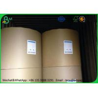 China Uncoated Food Grade Paper Roll 80gsm 100gsm 120gsm In Roll / Sheet Package wholesale