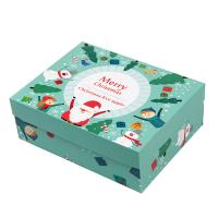 China CMYK Printing Christmas Packaging Boxes Christmas Gift Boxes With Lids Tray wholesale