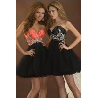 Buy cheap Black Sweetheart Homecoming Dresses from wholesalers