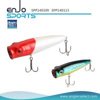 China Angler Select Top Water Popper Fishing Tackle Lure with Vmc Treble Hooks (SPP140109) wholesale