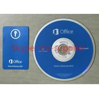 China Home And Business Microsoft Office 2013 Software License Key With CD And Box wholesale