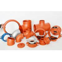 China CCC FM UL High quality Ductile iron grooved fittings wholesale