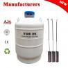 China TIANCHI Liquid Nitrogen Flask 20L Dewar Semen Container Animal Husbandry wholesale