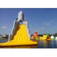 China Customized Color Great Commercial Inflatable Water Slides For Water Equipment wholesale